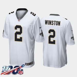New Orleans Saints Jameis Winston White Jersey